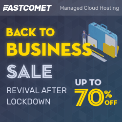 FastComet Back to Business 2020 Sale
