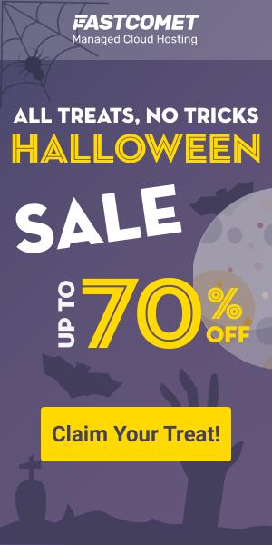 FastComet Halloween Sale & Deals 2020