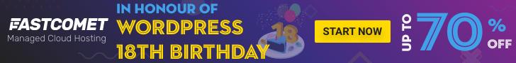WordPress 18th Birthday Sale & Deals