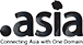 Registed .asia domain name