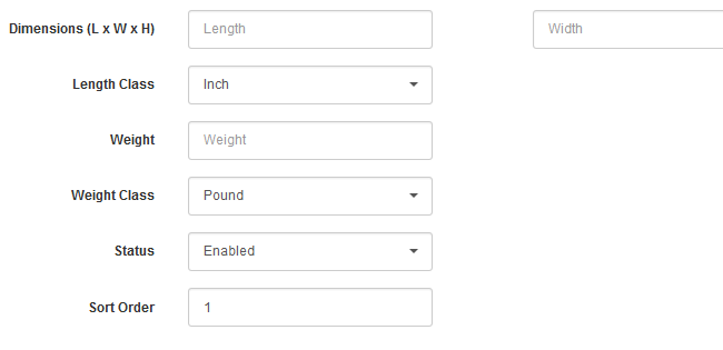 Data Measurement Units Configuration in Arastta