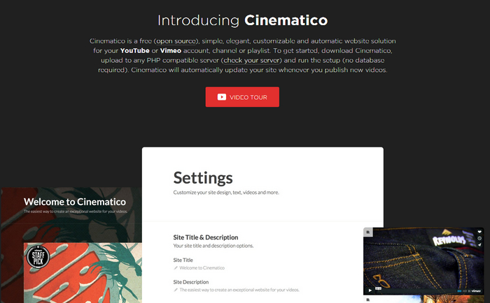 Cinematico introduction
