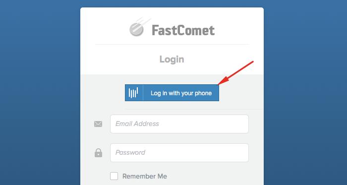 FastComet Client Area Login