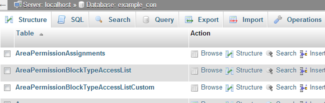 Use Export feature in phpMyAdmin
