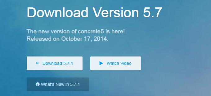 Download latest Concrete5