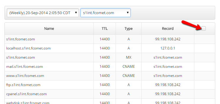 how to take down domain in cpanel