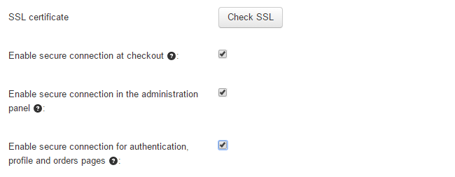 Enable SSL in CS-Cart