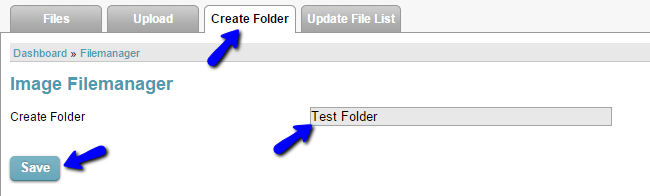 Create images folder in CubeCart