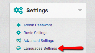 administration-language-settings
