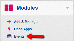 Events-installed