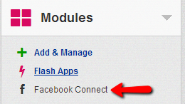 Modules-facebook-connect