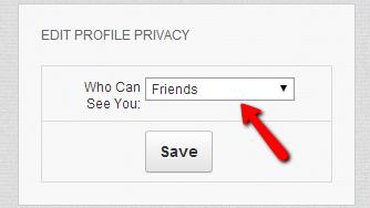Saving-settings
