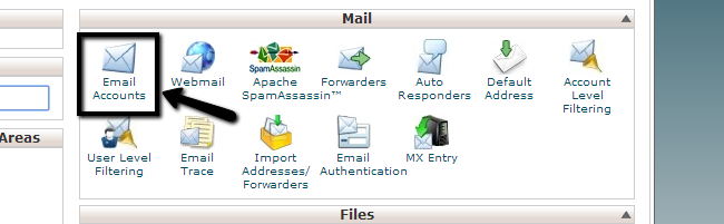 Access email accounts in cPanel