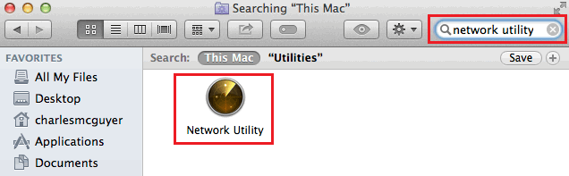 Access Network Utility