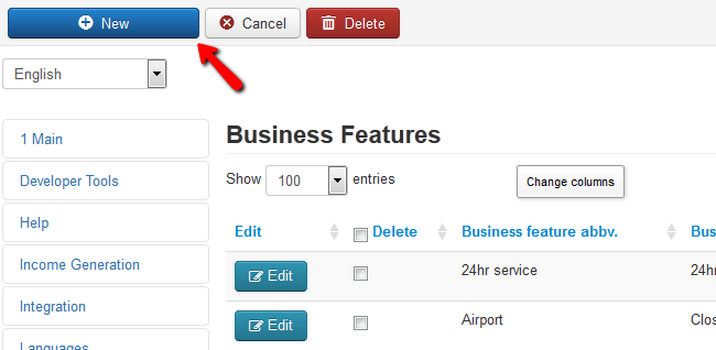 adding new business feature