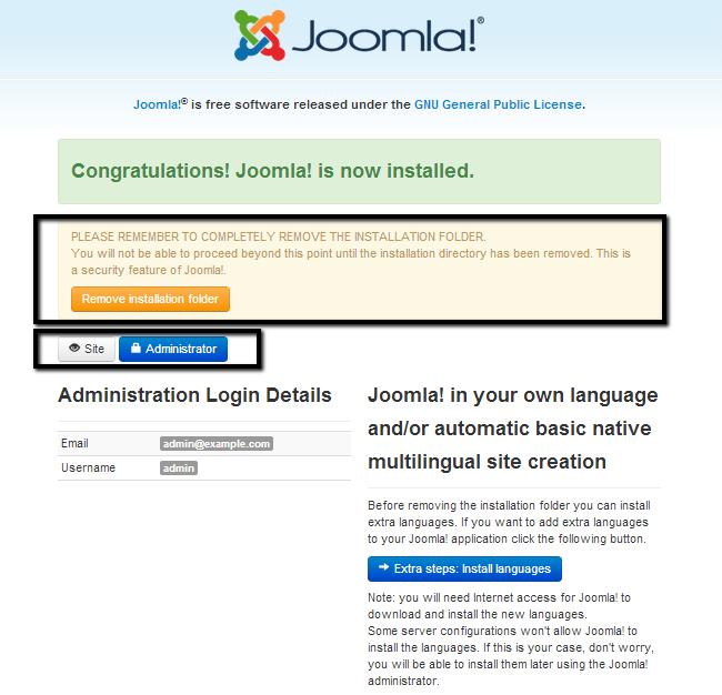 how to manually install joomla joomla tutorial fastcomet