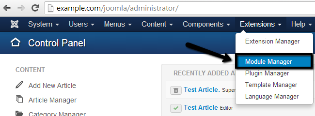 how to create module in joomla step by step