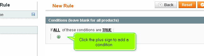 Magento Rule Conditions