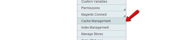 Magento Cache Management