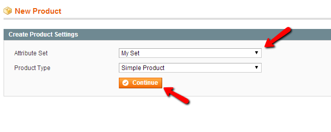Magento Add new product