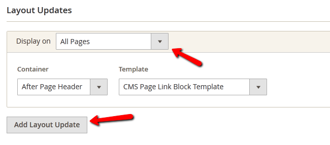 Adding a Layout to the Widget in Magento 2
