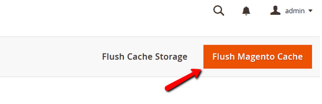 Flushing the Magento 2 Cache