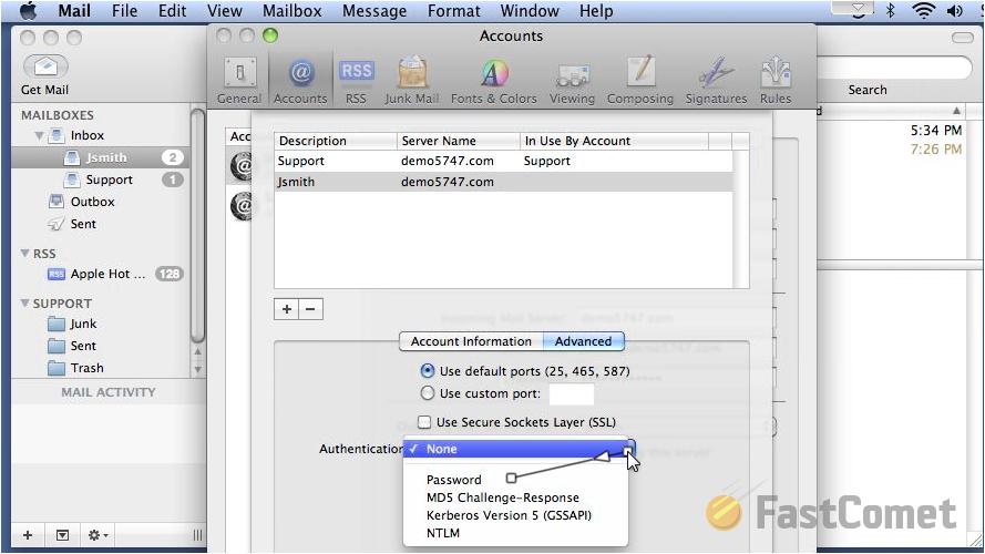 mail-server-authentication