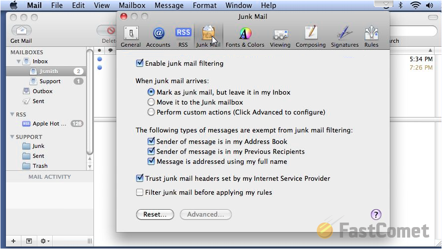 preferences-junk-mail