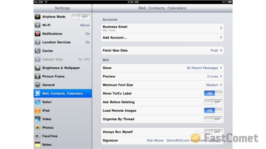 mail-configuration-page-mail-contacts-calendars
