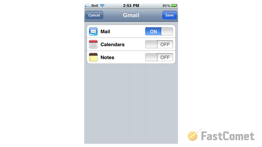 how to delete all mail on iphone gmail