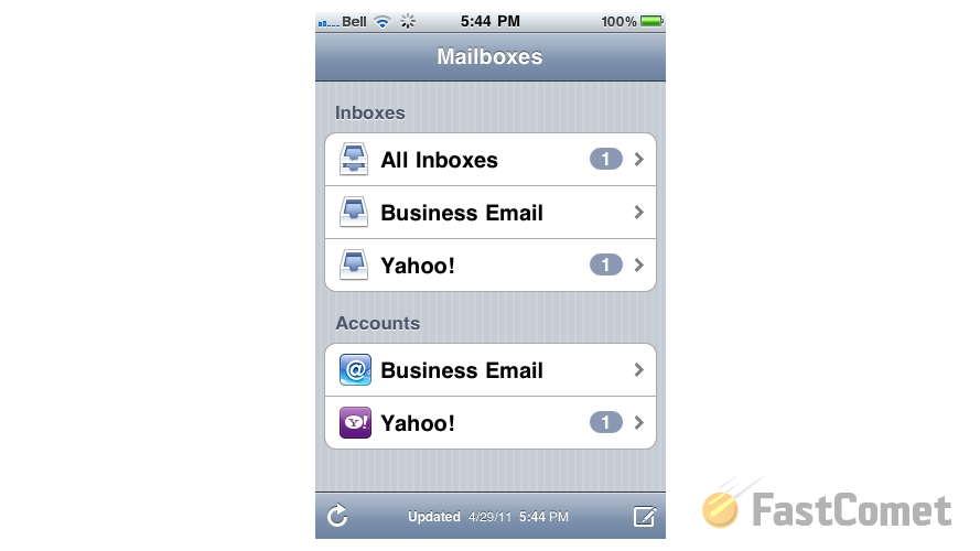 finding-your-configured-yahoo-account