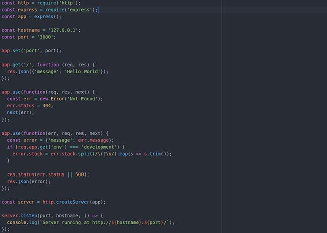 nodejs project preview