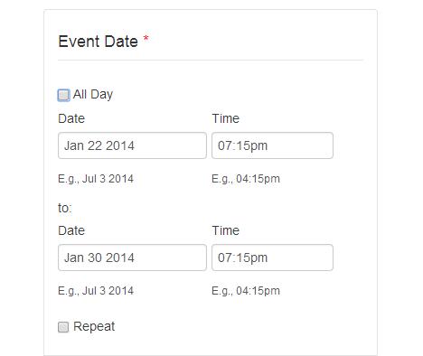 configurin-event-date