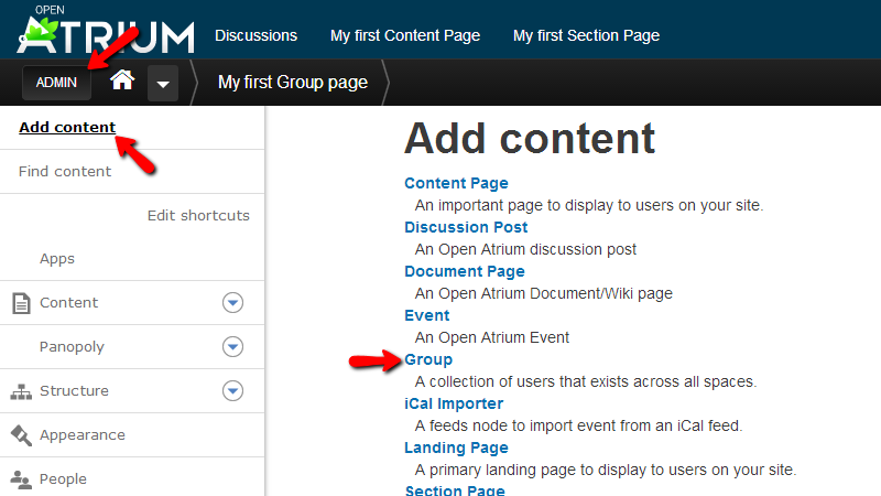 adding-group-page-from-admin-menu