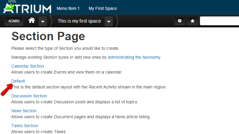 section-page-from-add-content-link