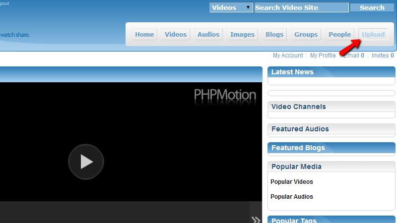 accessing-upload-menu