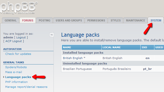 language-packs