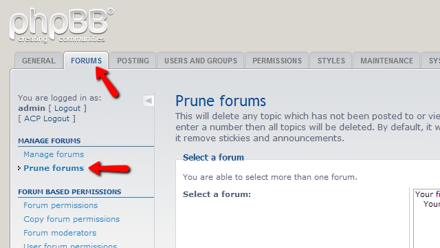 prune-forums