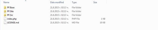 Extract PHPFox Neutron Files
