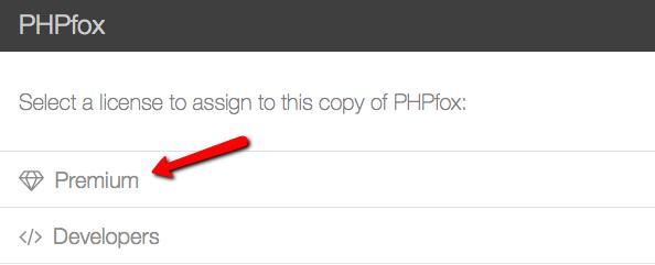 Choose PHPFox Neutron Installation License