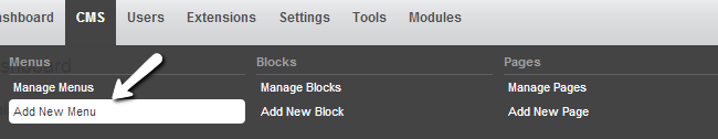 Add a new menu in PHPFox
