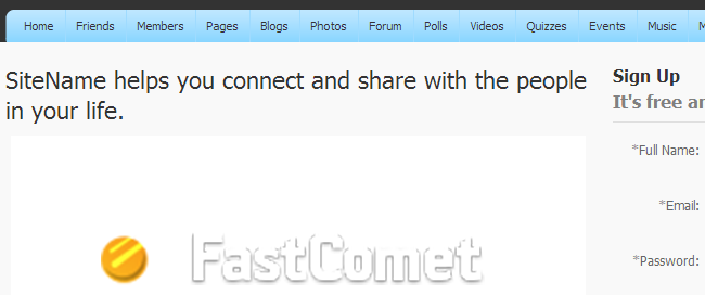 PHPFox world image changed
