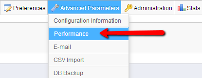 Advanced-Parameters-Performance