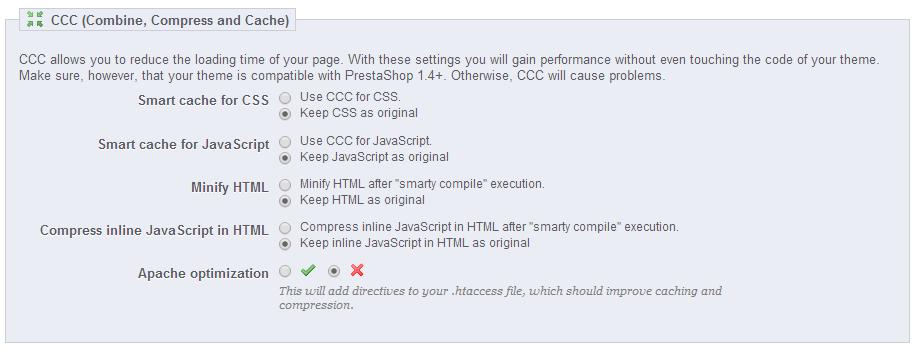 CCC-Optimization