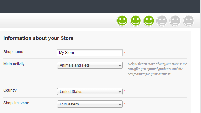 Store Basic information