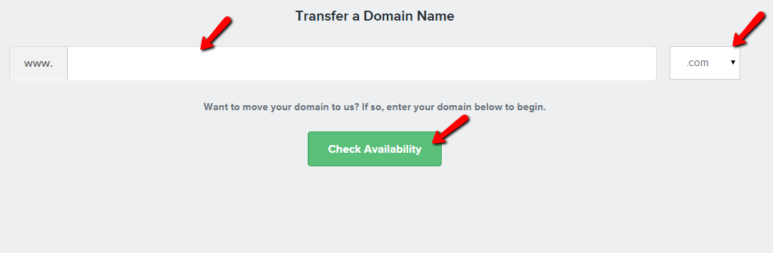 Domain transfer validation