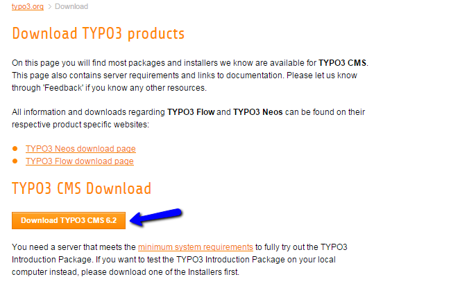Download TYPO3