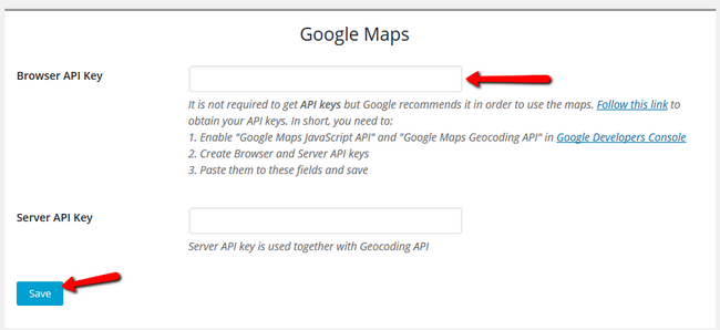 Setting Up Google Maps for your business via the sitebuilder