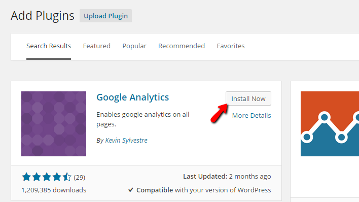 installing google analytics