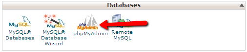 how to create database in phpmyadmin in cpanel